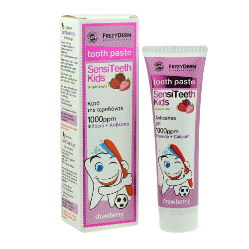 FREZYDERM SENSITEETH KIDS 1000ppm - pasta do zębów